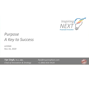 Purpose: A Key to Success