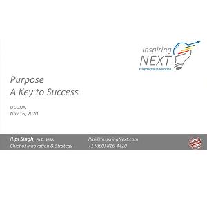 Purpose: A Key to Success