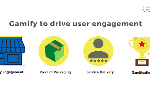 Gamify to drive user engagement
